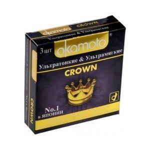 Презервативы Okamoto  Crown