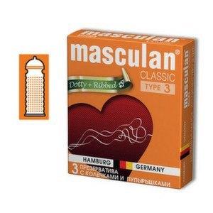Презервативы Masculan Classic