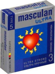 Презервативы Masculan Ultra Strong