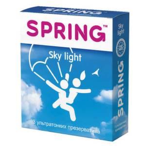 Презервативы Spring Sky Light Ультратонкие