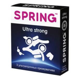 Презервативы Spring Ultra Strong ультрапрочные